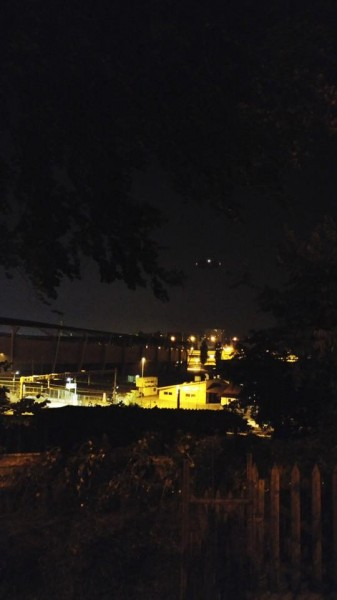 В небе над Женевой заметили НЛО