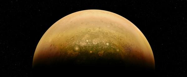 Юпитер в разрезе похож на слоеную луковицу