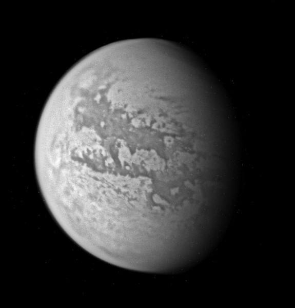 """Корабль """"Кассини"""" выявил резкое похолодание на Титане"""