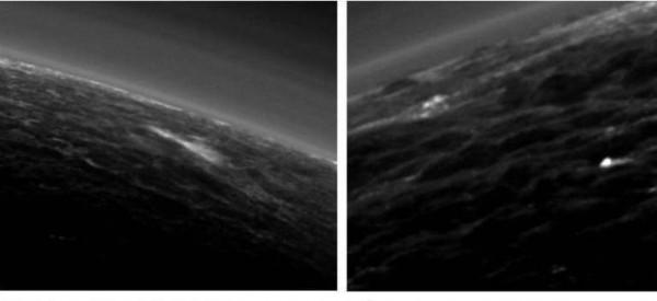 Запущенный на Плутон зонд обнаружил там облака