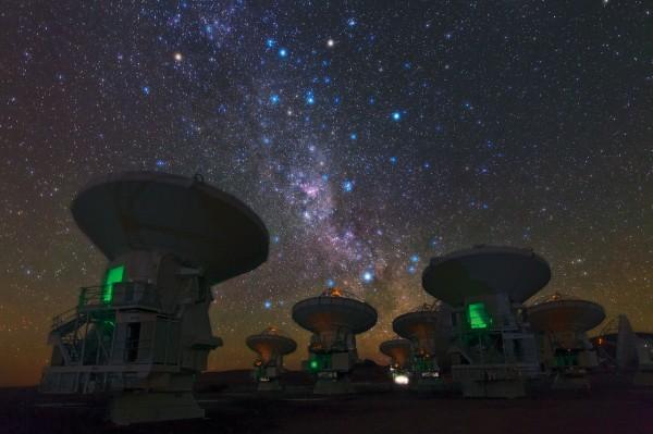 Новая камера ученых позволит проследить за процессом рождения звезд