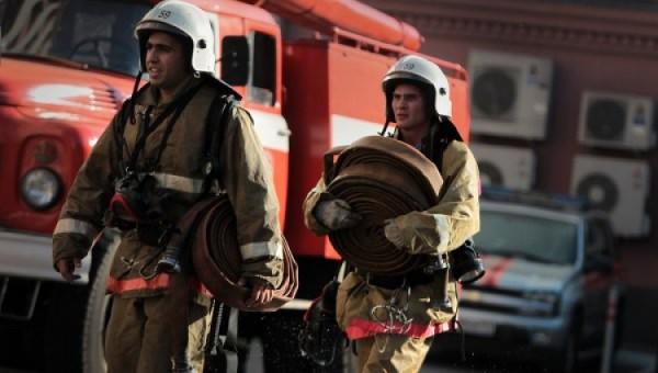 В Москве на Карачаровском заводе произошел пожар