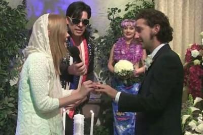 Звезда «Трансформеров» женился в Лас-Вегасе на актрисе из «Нимфоманки»