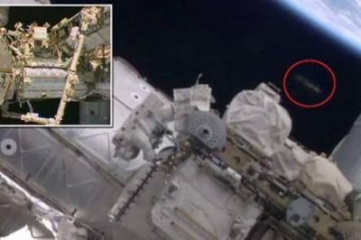 Стыковку космического корабля «Союз МС-02» с МКС наблюдали с НЛО