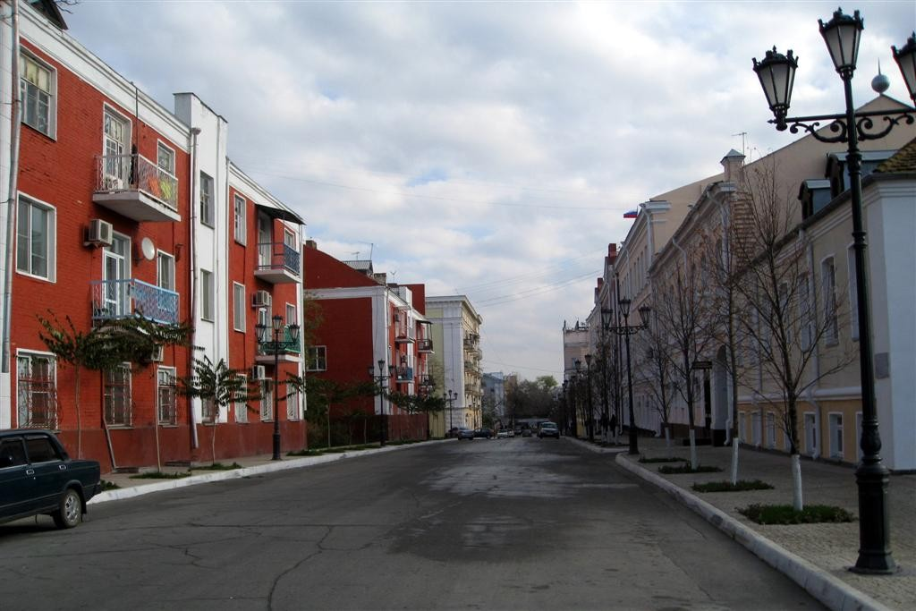Вцентре Астрахани найден женский труп