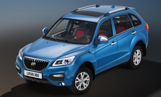 Лифан планирует расширить моторную линейку модели Solano в Российской Федерации