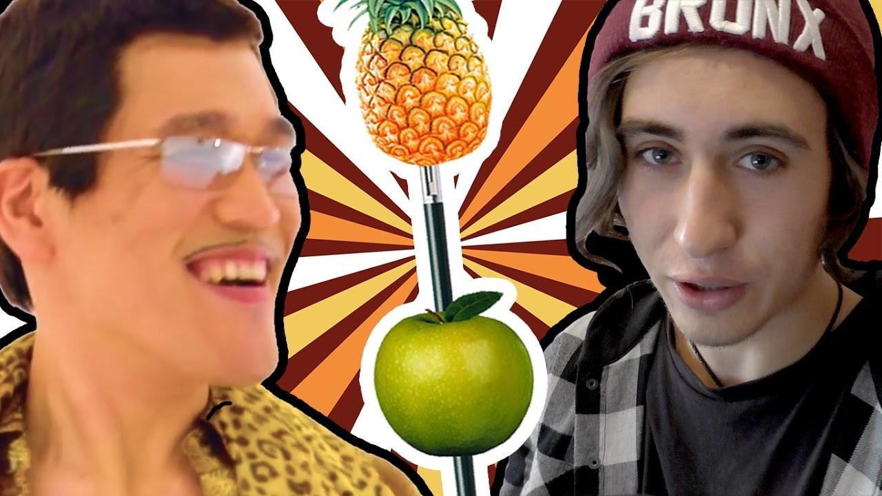 ВЯпонии назвали кафе вчесть песни Pen Pineapple Apple Pen