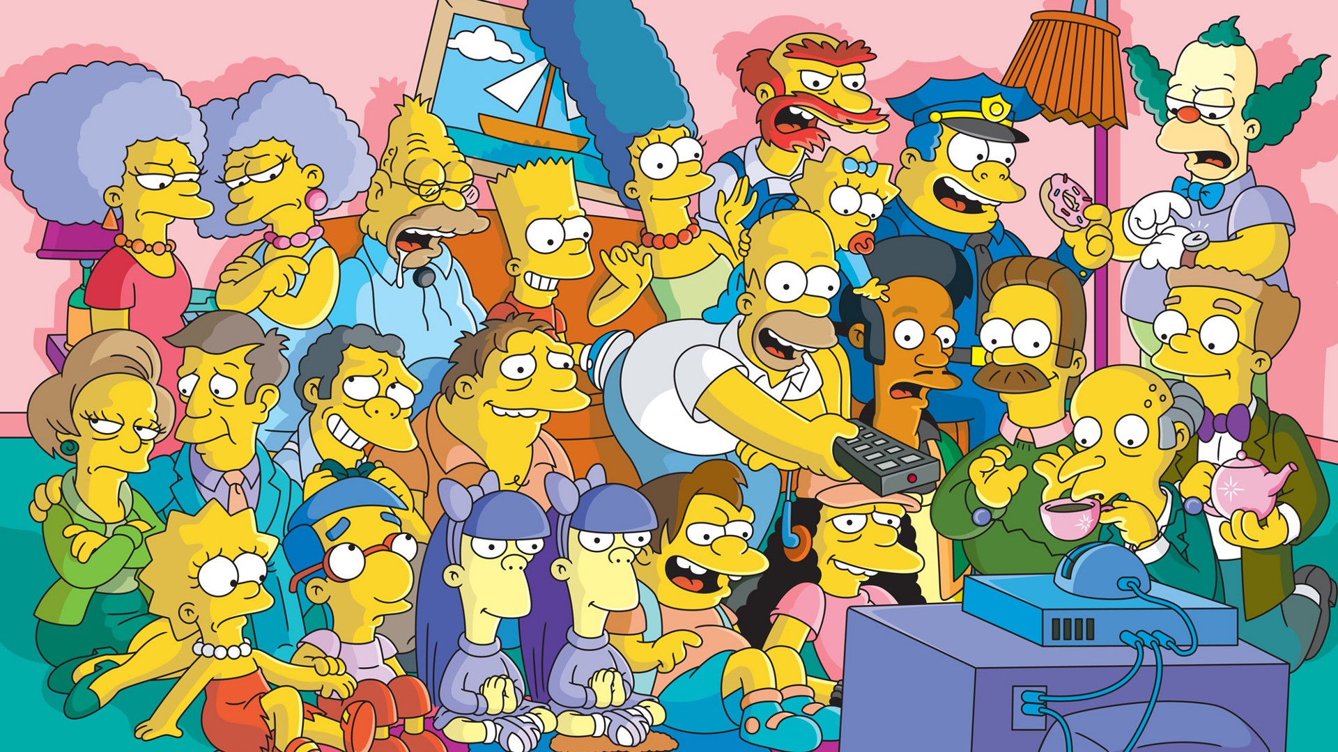 Мультипликационный сериал «Симпсоны» побьет рекорд и будет самым длительным шоу натв