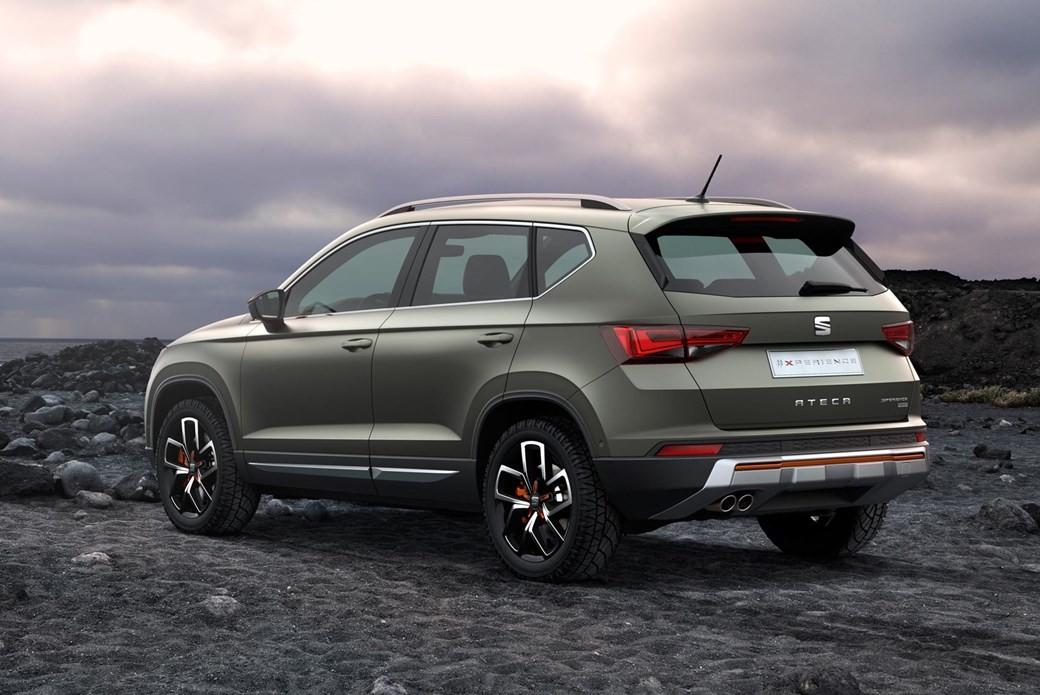 Компания Ateca усовершенствует вседорожный автомобиль X-Perience