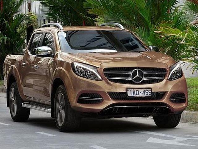 В Россию из Барселоны едет внедорожник Mercedes Benz X-Class