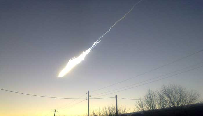 Внебе над Байкалом сгорел метеорит