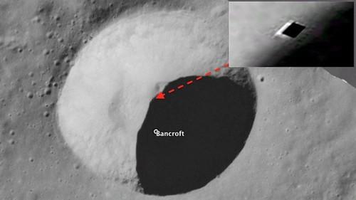 НаЛуне найден подземный бункер НЛО
