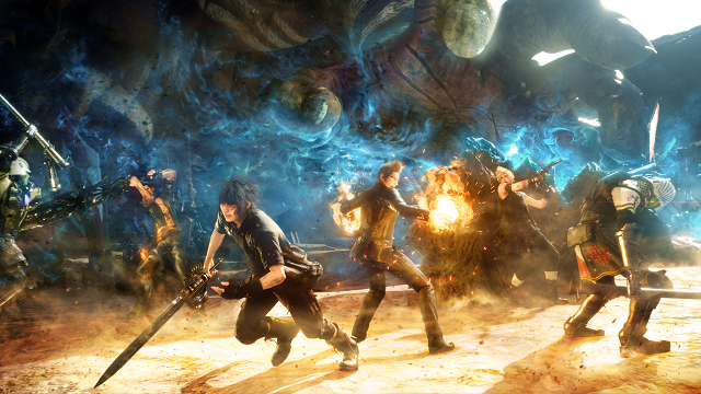 Персонажи свежей Final Fantasy стали геями из-за глюка