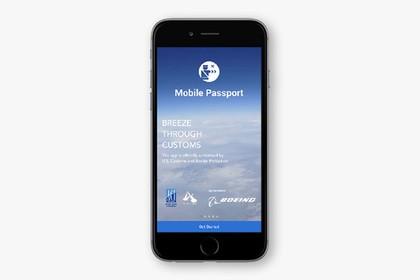 Для прибывающих вСША туристов создали мобильный паспорт
