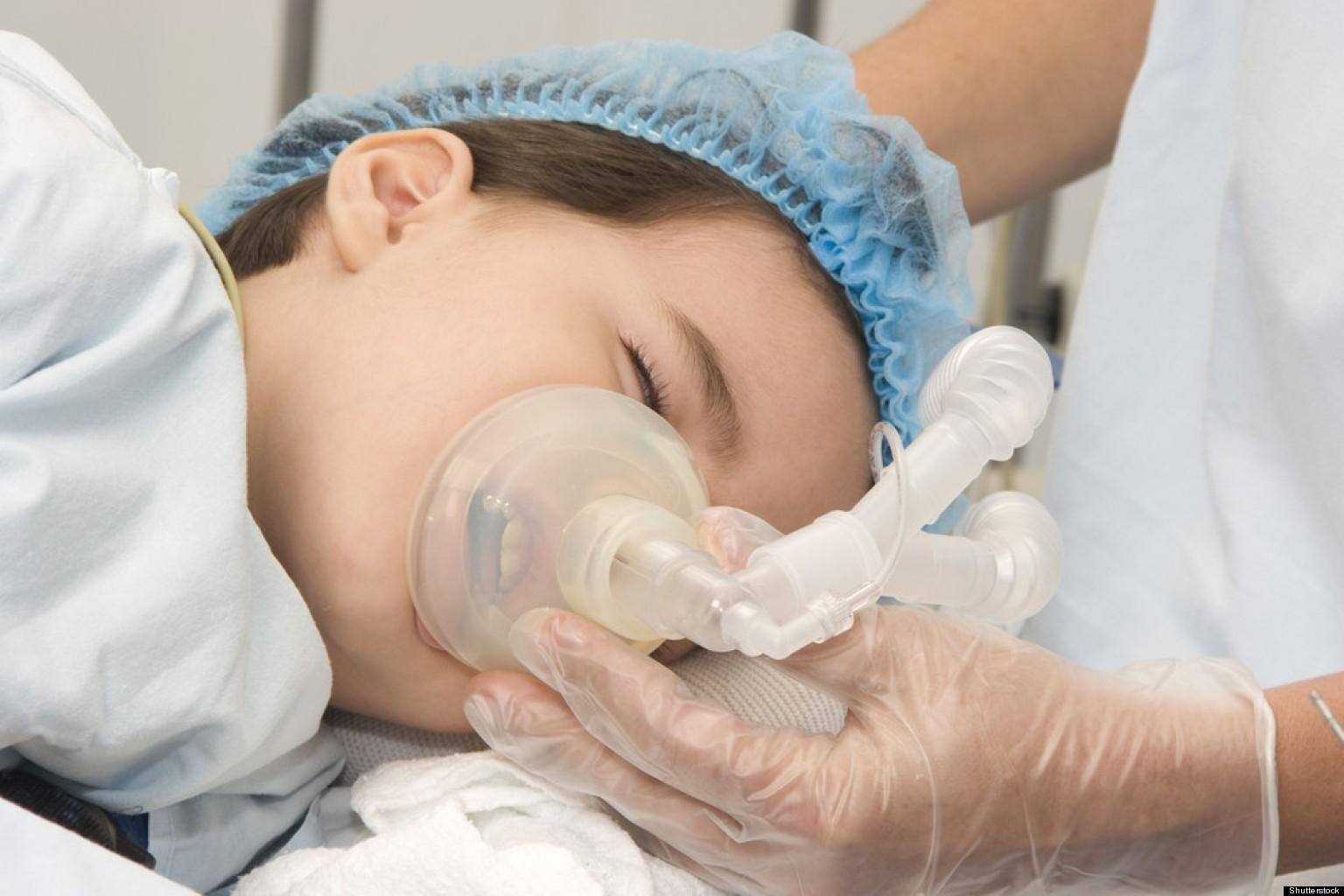 Мозг ребенка нестрадает отанестезии впроцессе хирургической операции