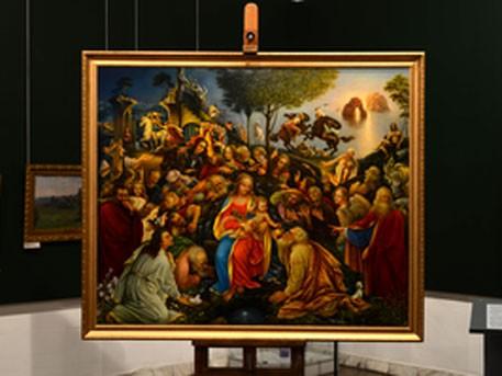 Новокузнецкий художник дописал незаконченную картину даВинчи