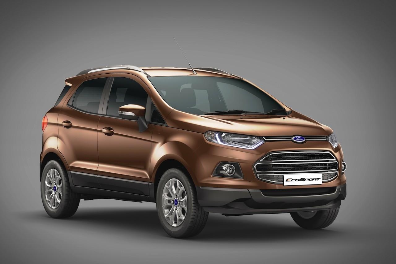 Новый Форд EcoSport дебютирует через некоторое количество дней