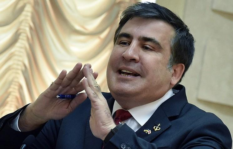 Саакашвили сновой партией готов участвовать вдосрочных выборах вРаду