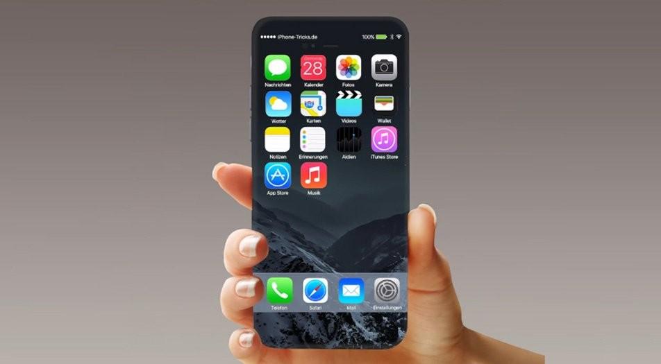 Apple может выпустить iPhone 8 с5 и5,8-дюймовым экраном