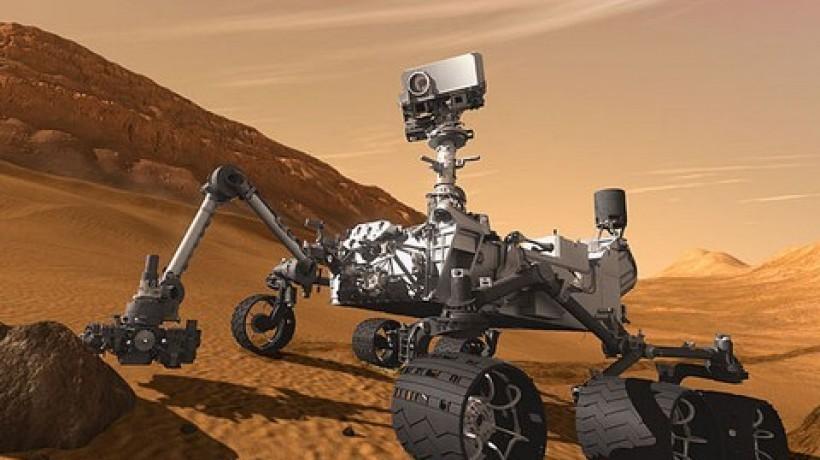 Наповерхности Марса был найден железный шар