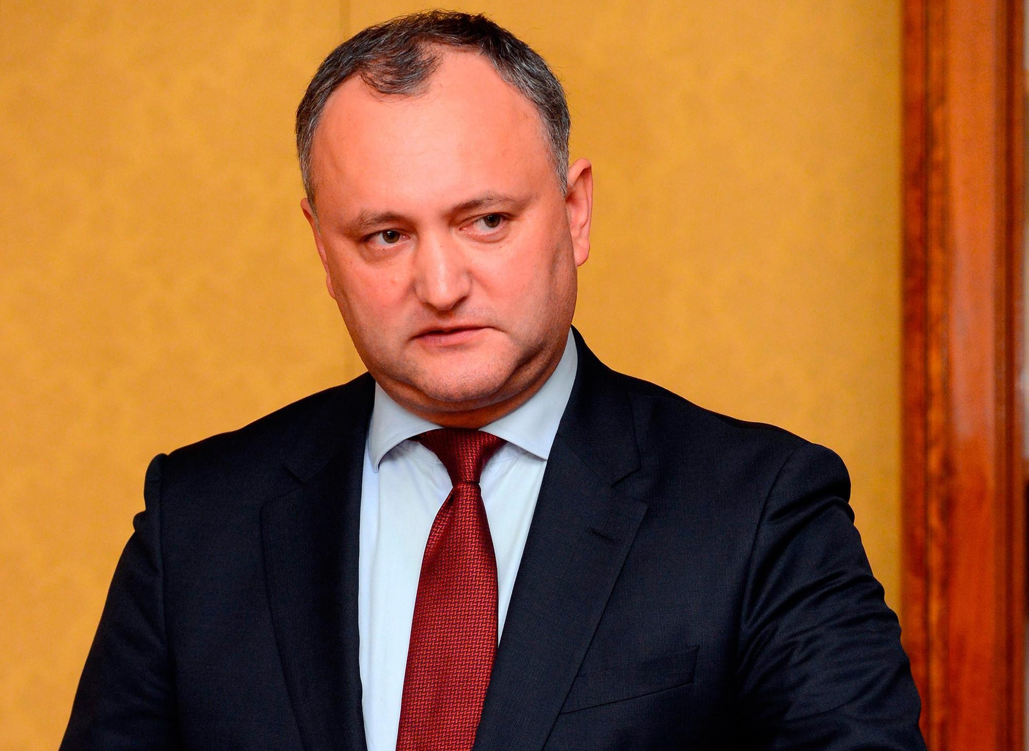 Додон объявил обуверенности впобеде навыборах президента Молдавии