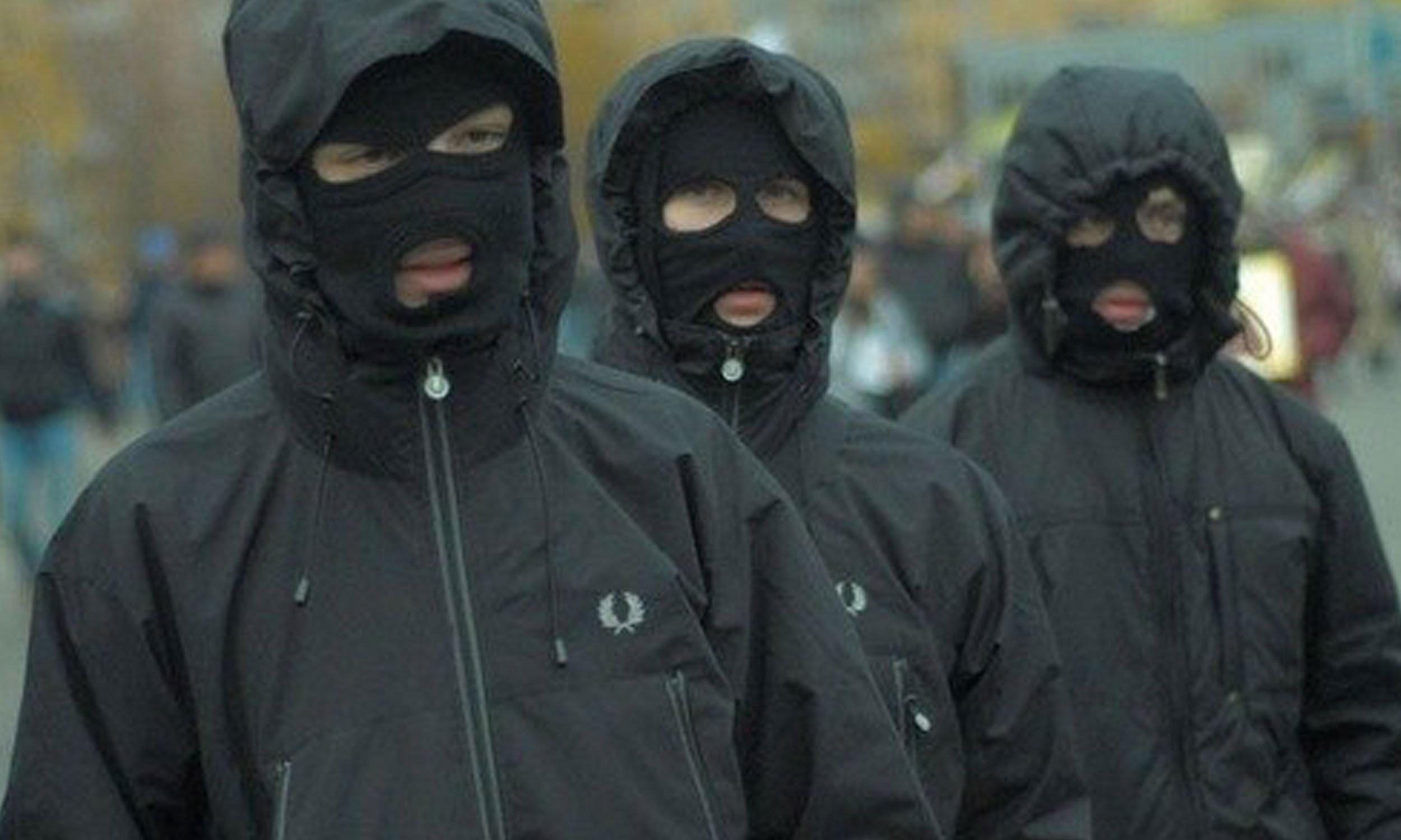 распознать маска балаклава в серпухове Керченский мост