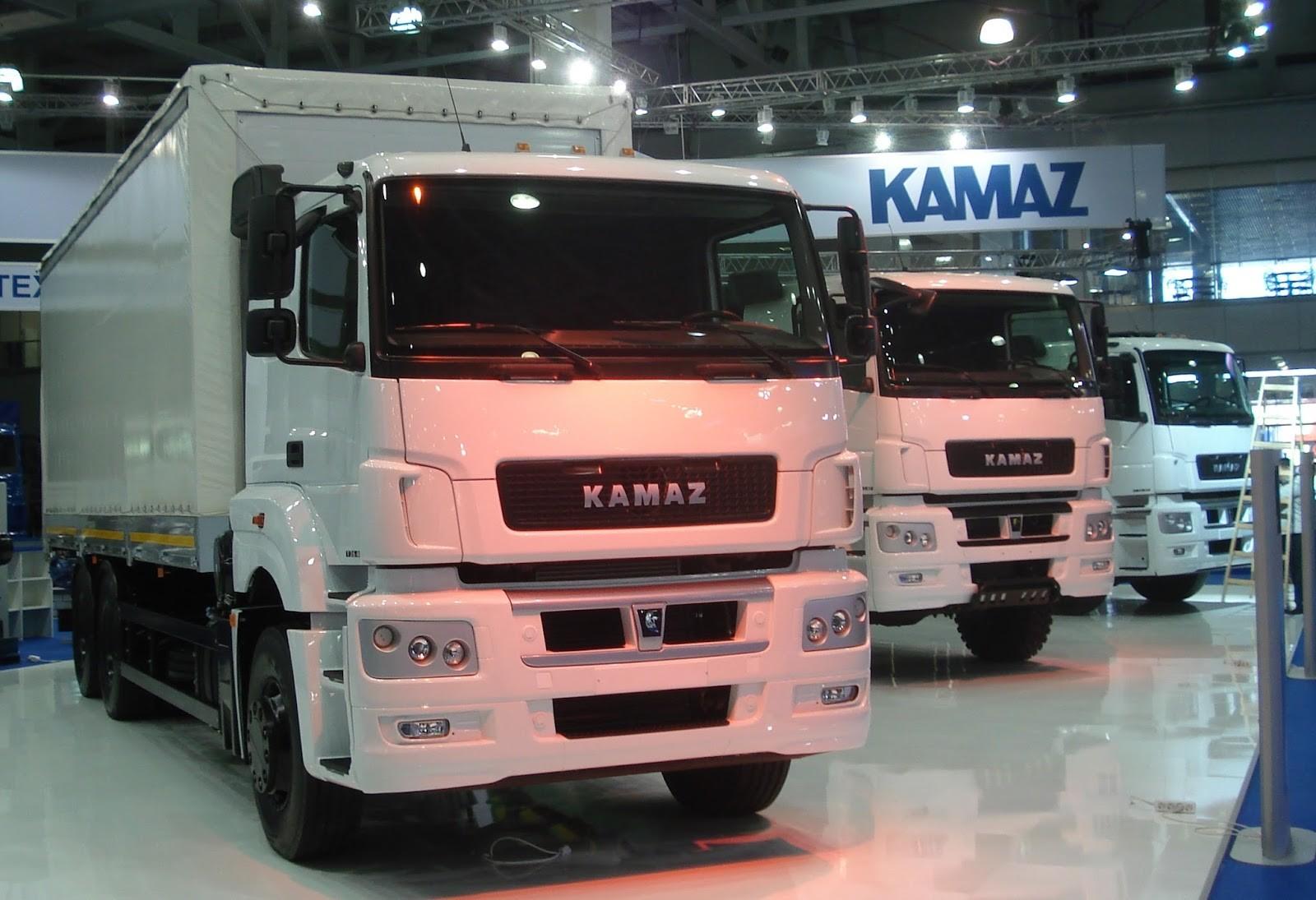 Осенью вырос рынок грузовых авто вРФ