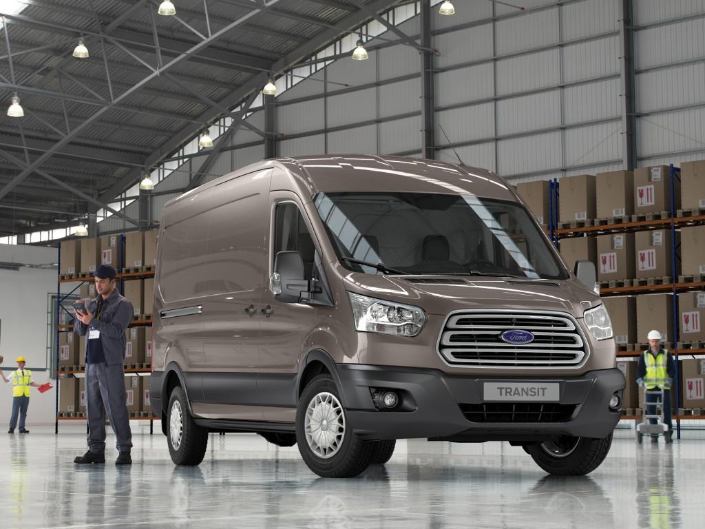 Форд  за10 месяцев увеличил продажи Transit в Российской Федерации  на66%