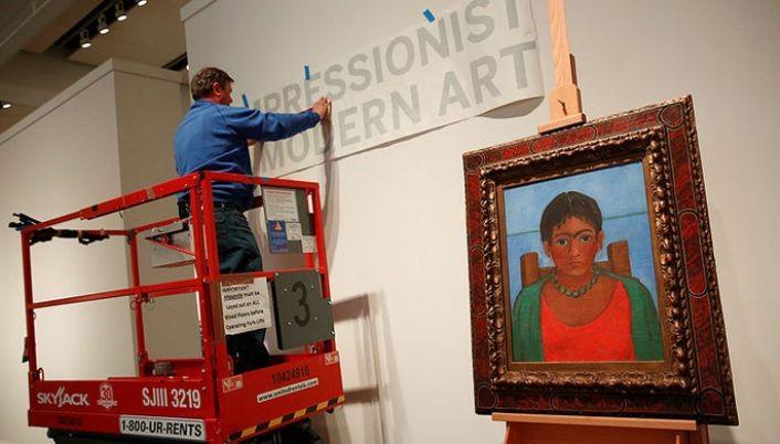 Нааукцион будет выставлена неведомая картина Фриды Кало