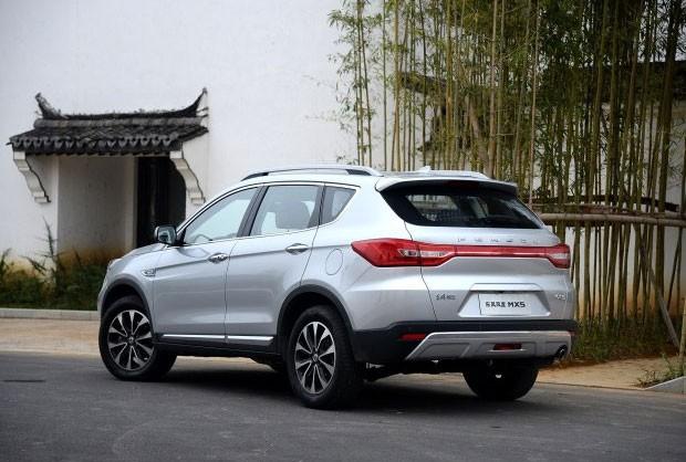 В «Поднебесной» начались продажи Dongfeng MX5
