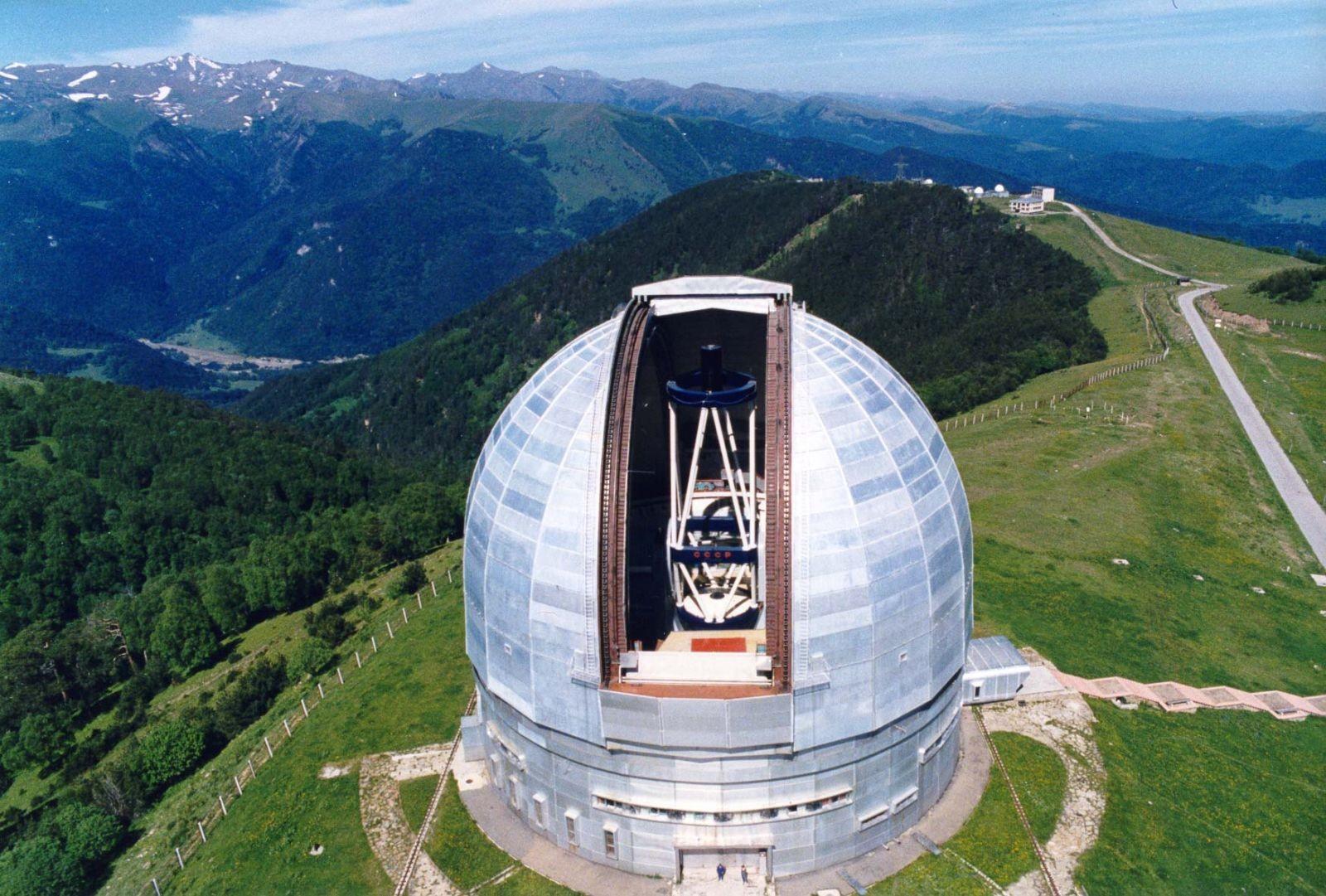 ВАрхызе появится телескоп для защиты отугроз изкосмоса
