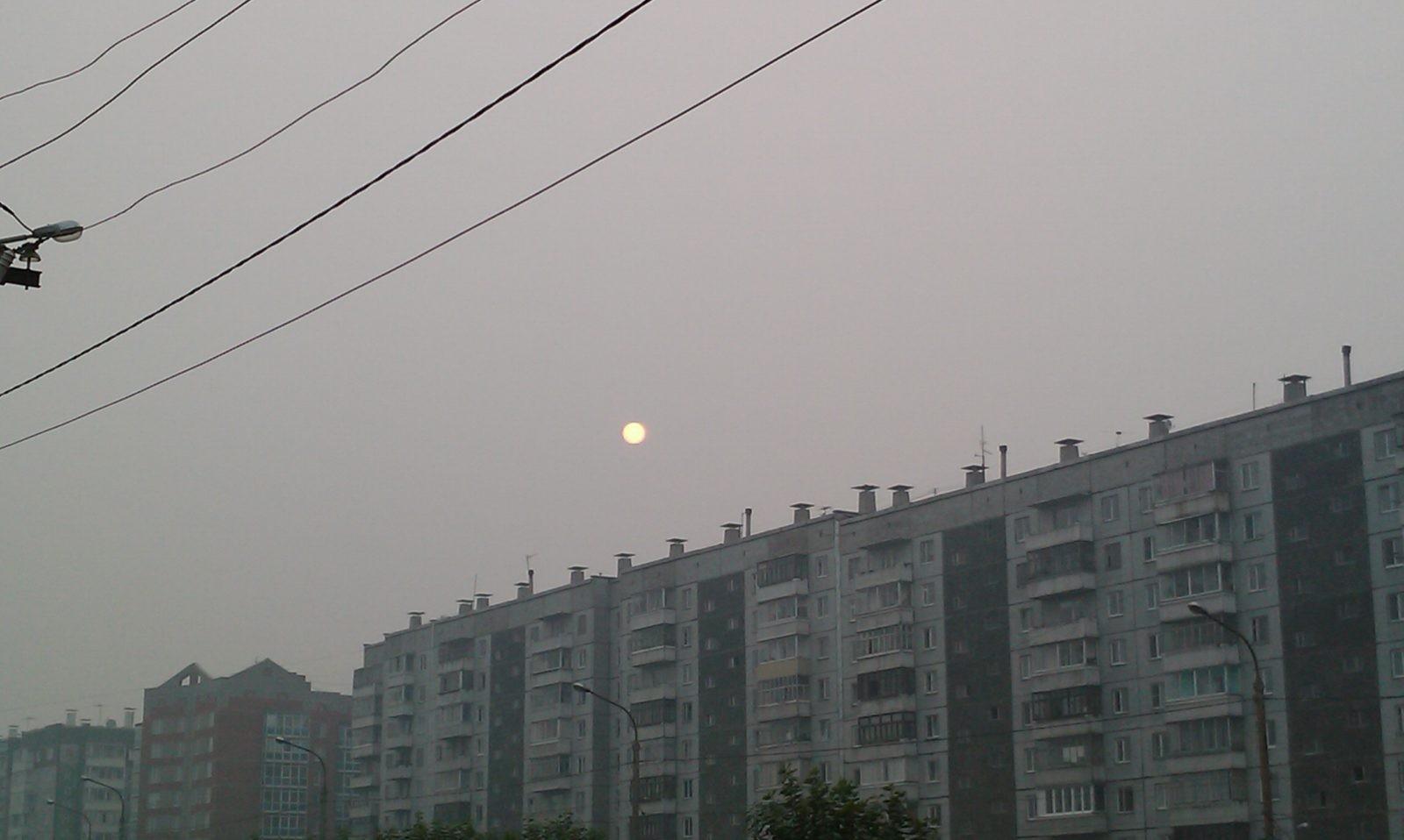 Воздух вКрасноярске запылен сверх нормы в1,2— 4,6 раза