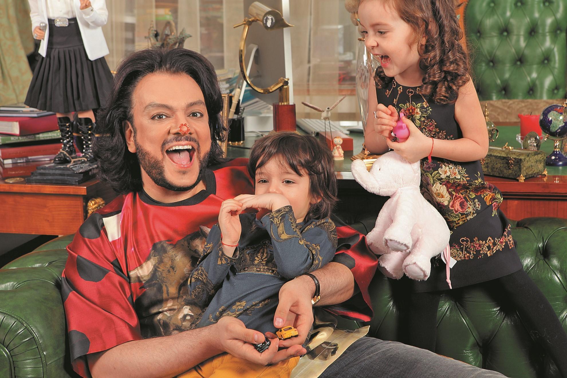 Филипп киркоров и его дети фото посмотреть