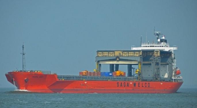 ВСоединенном Королевстве Великобритании 200-метровое судно столкнулось сбаржей