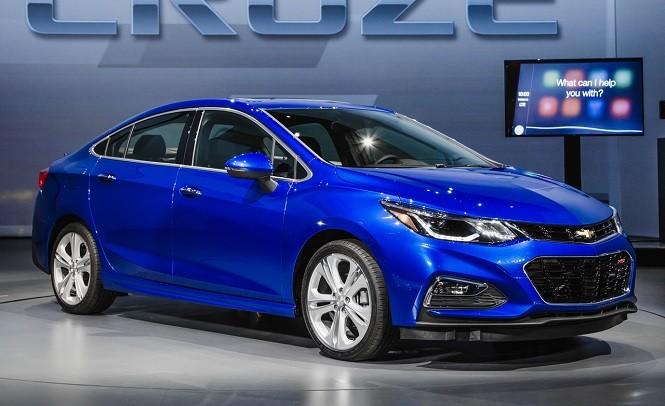 Объявлена стоимость нового седана Шевроле Cruze 2017 модельного ряда