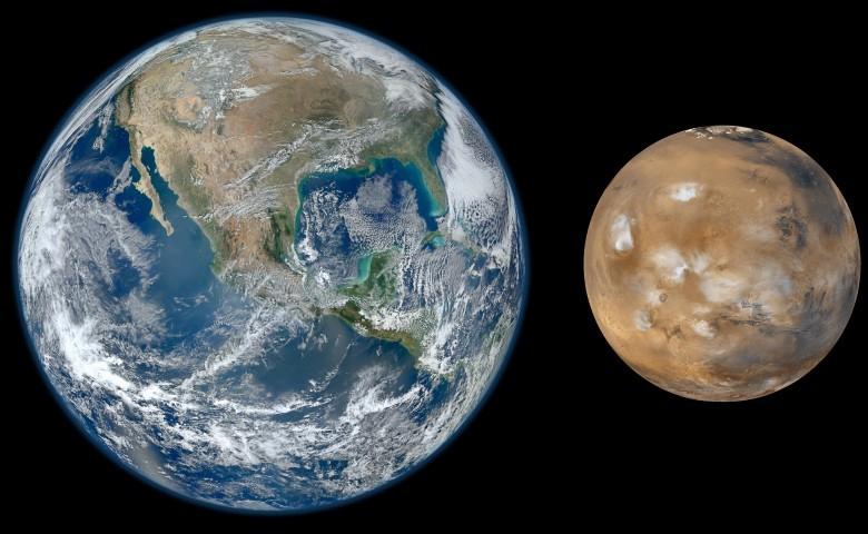 Ученые: Еслибы небыло Марса, Земля осталасьбы под водой
