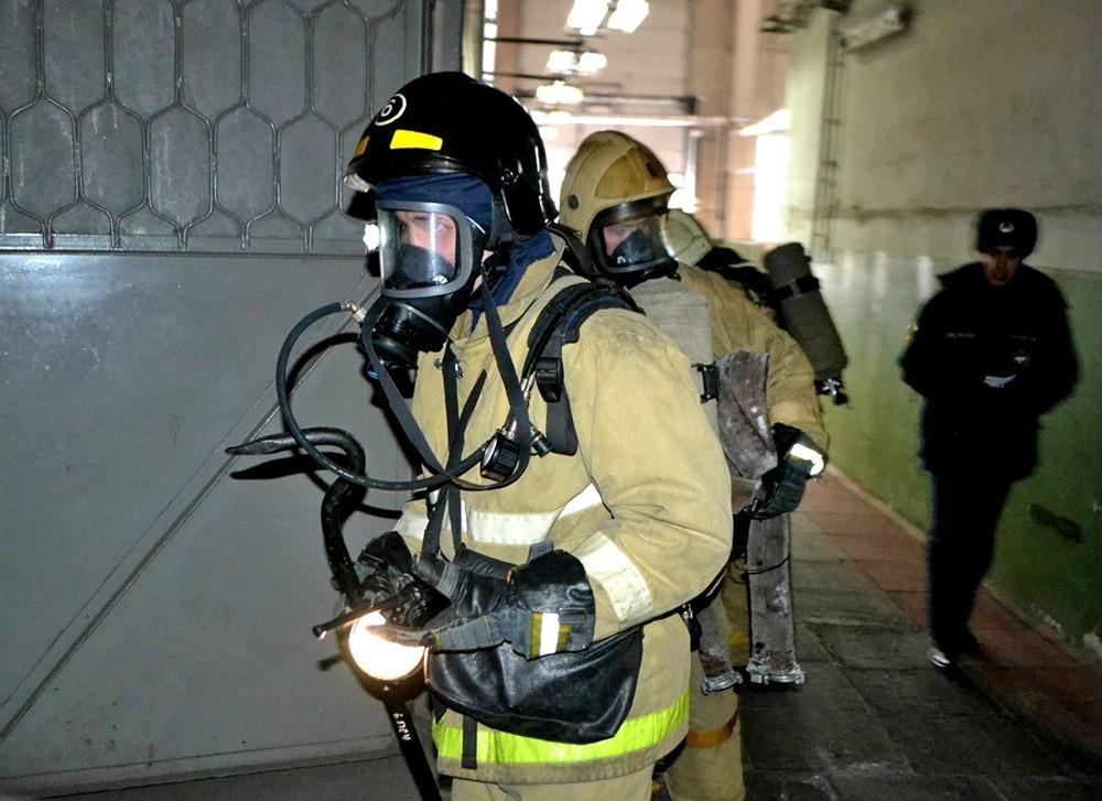 Человек умер впожаре вжилом доме вцентре столицы