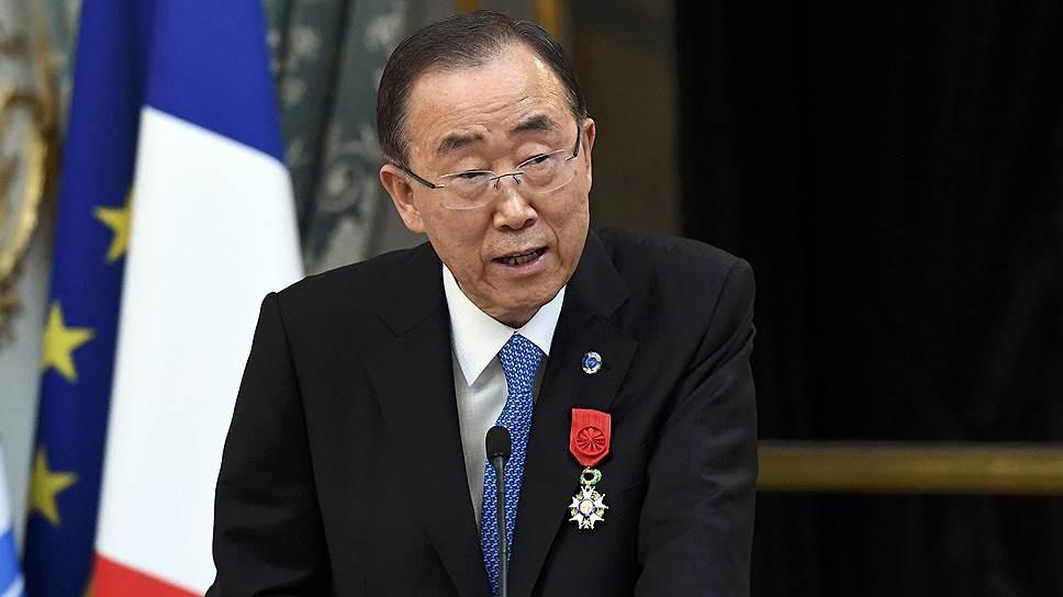 Генсек ООН призвал США иРФ избавиться отчасти ядерного арсенала