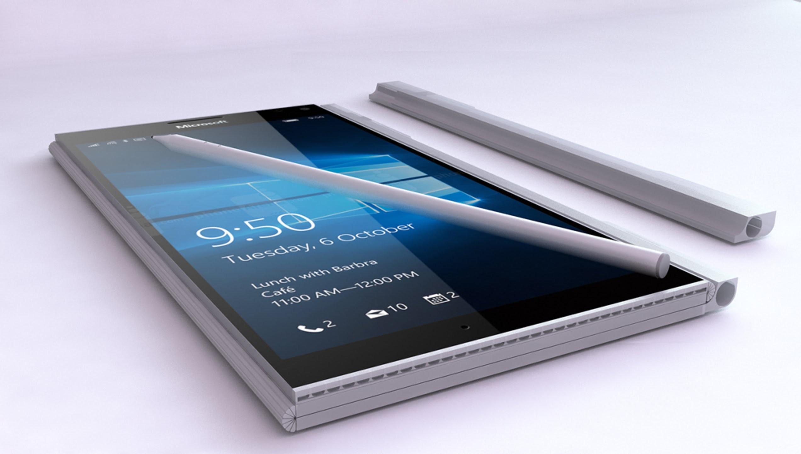 Размещены предполагаемые спецификации телефона Microsoft Surface Phone