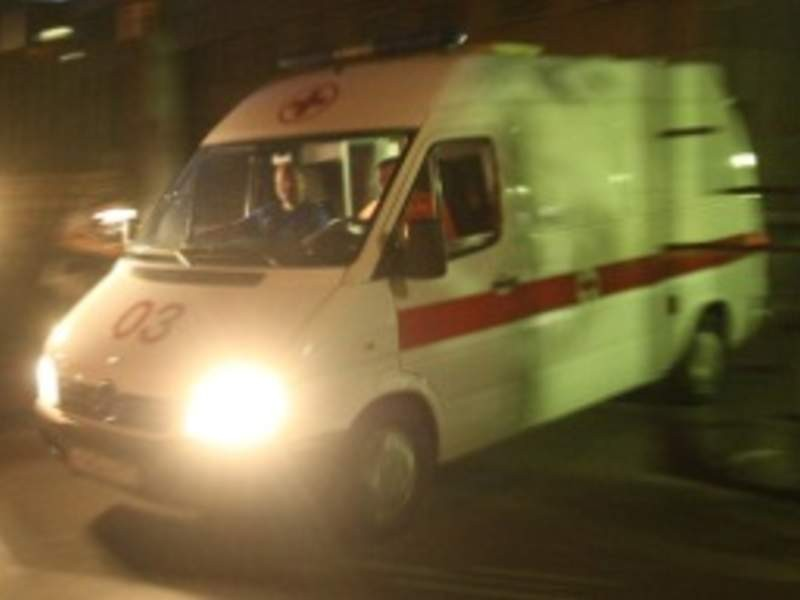 Авария скаретой «скорой помощи»