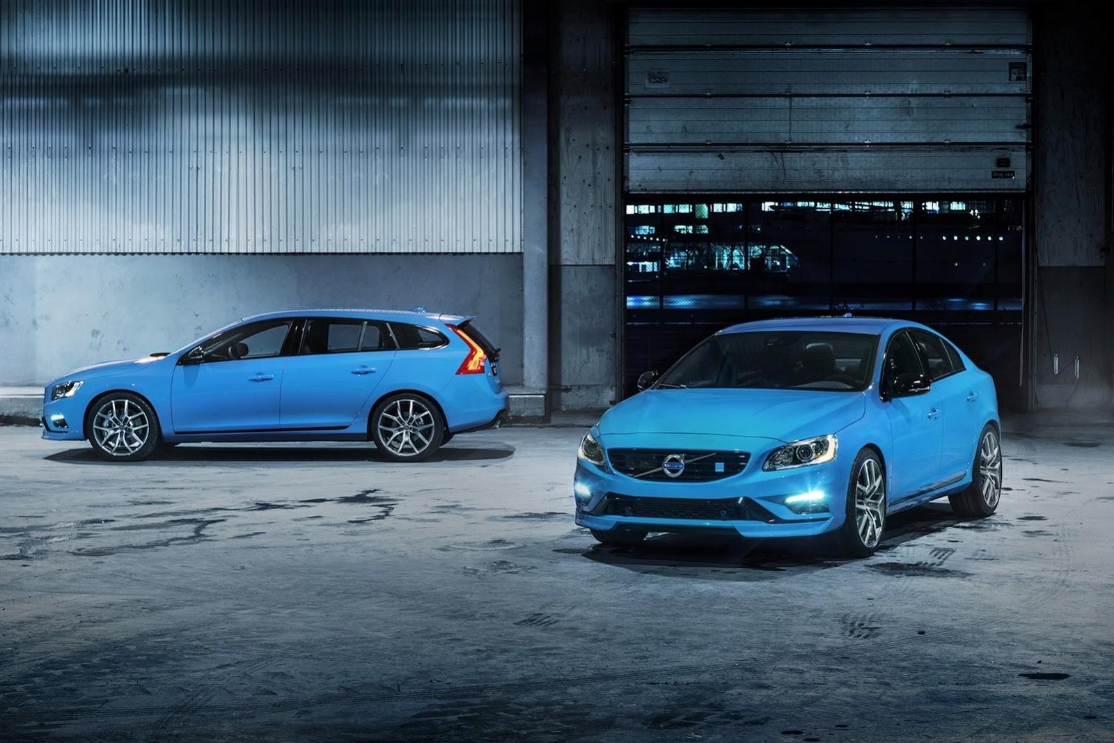 Volvo и Polestar представили новые заряженные новинки S60 и V60 в Лос-Анджелесе