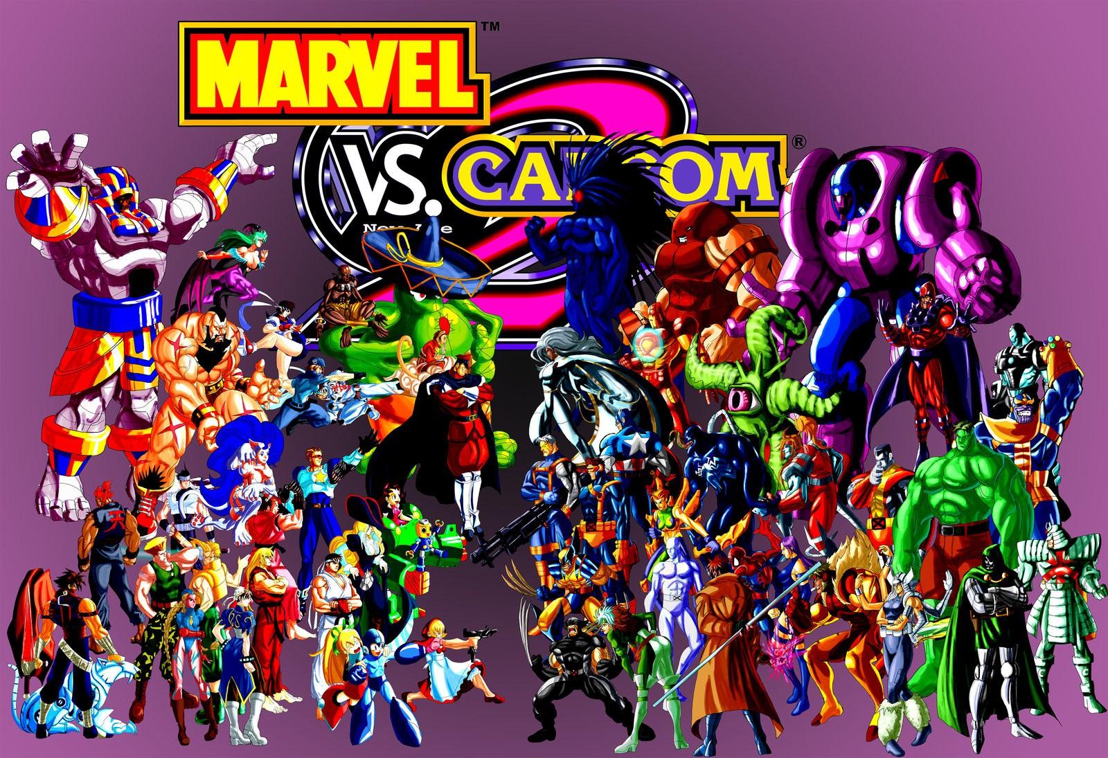 Все-таки возможно, вконце этой недели будет анонсирована Marvelvs. Capcom 4