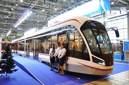 В столице показали трамвай обновленного поколения «Витязь М»