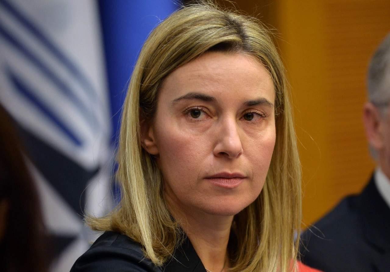 Депутат от БПП считает, что Федерика Могерини - это два разных человека. Причем один из них мужчина