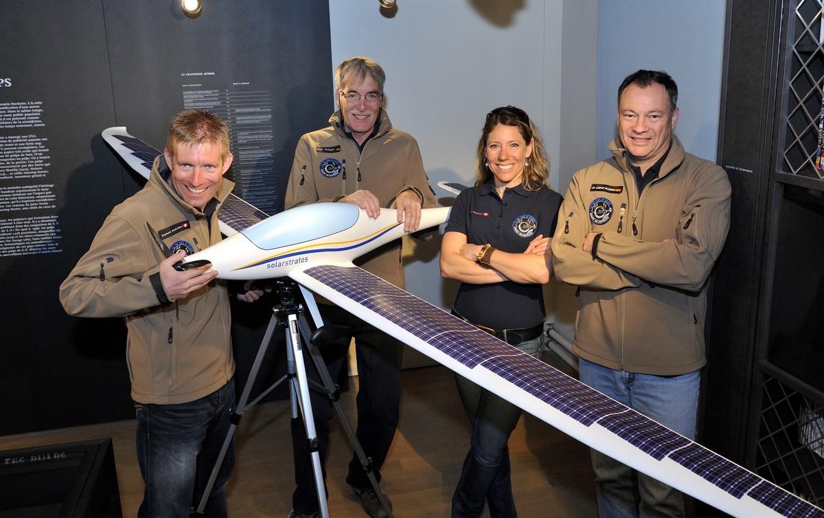 SolarStratos презентовала самолет для путешествий вкосмос