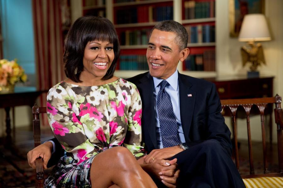 Обама отказался верить внамерение супруги баллотироваться впрезиденты