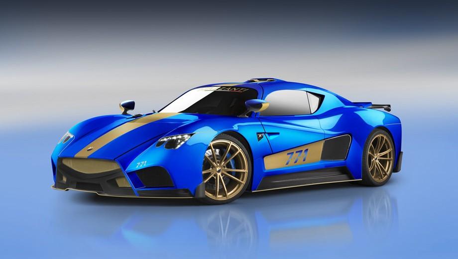 Evantra 771— новая модификация штучного спорткара Mazzanti