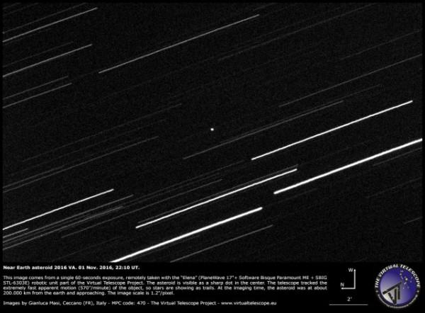 Ученые открыли неизвестный ранее астероид