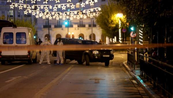 На посольство Франции в Афинах совершено нападение с гранатой