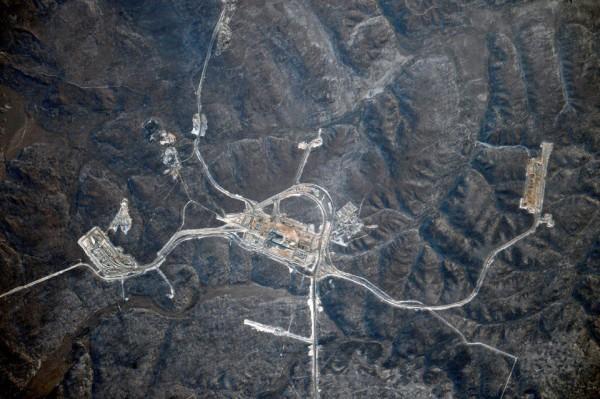 Российский космонавт сделал фото «Восточного» с борта МКС